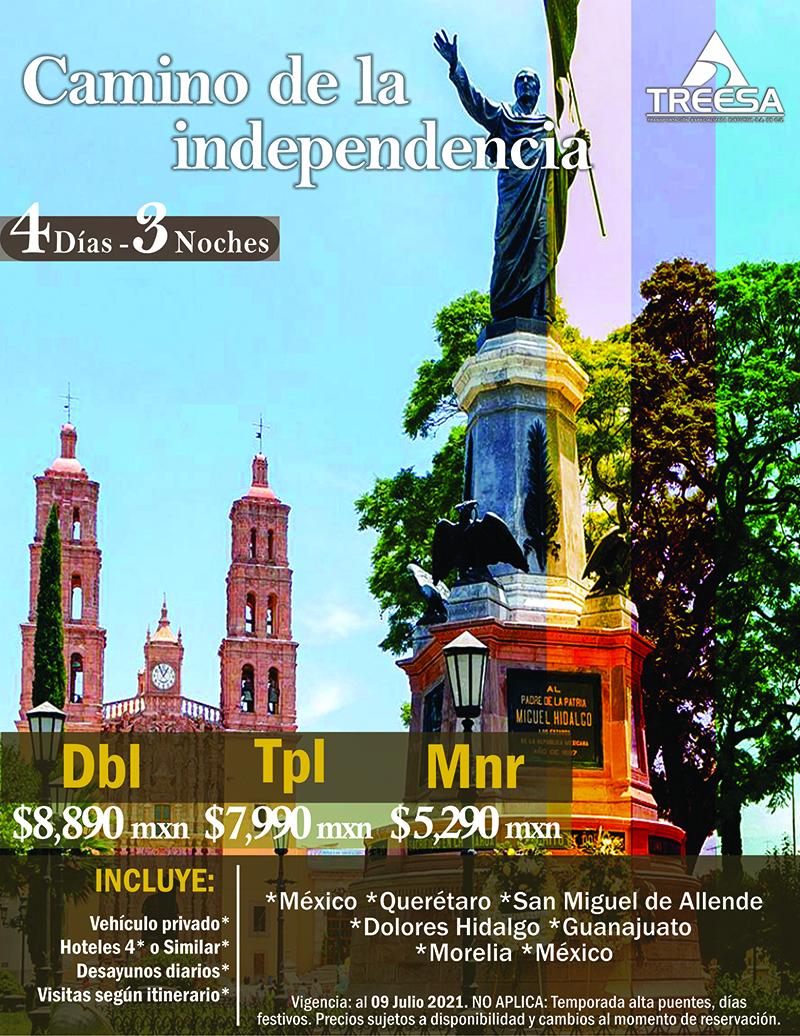 Tour Camino de la Independencia
