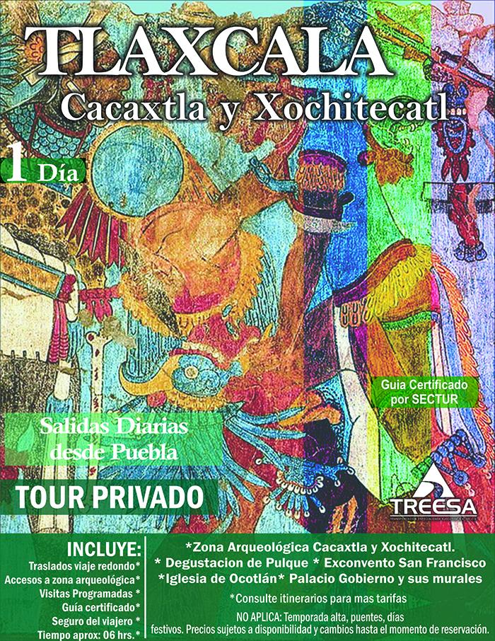 Tour Cacaxtla y Tlaxcala