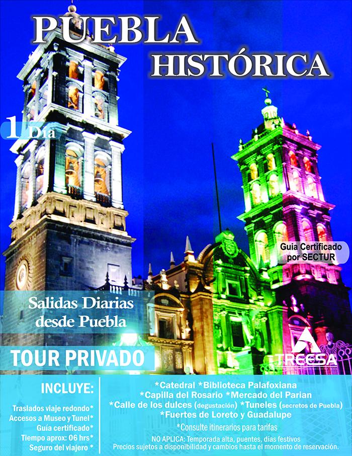 Tour Puebla Historica