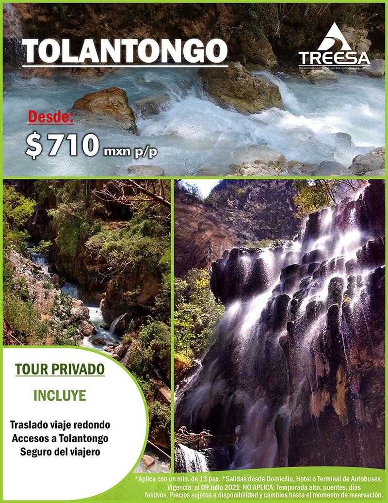Tour Grutas de Tolantongo