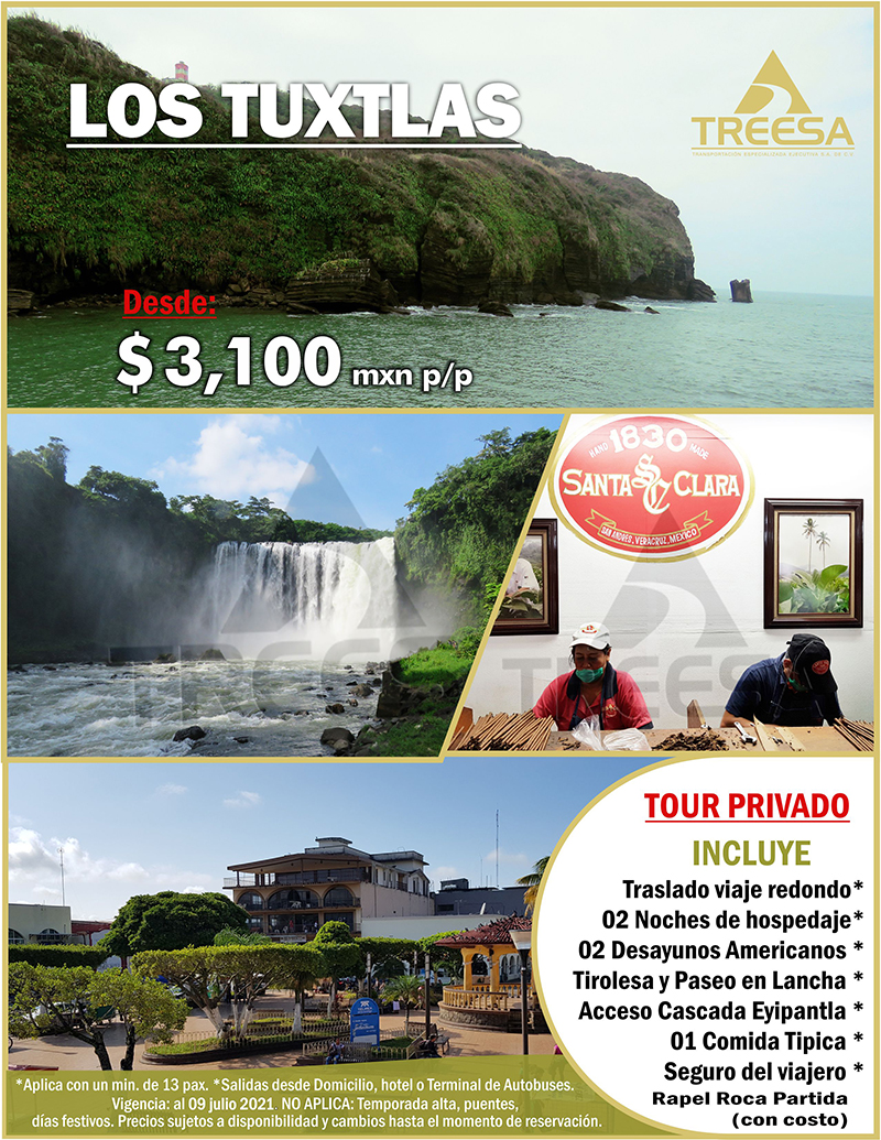 Tour San Andres Tuxtla